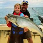 searcher charters lake ontario salmon - 2